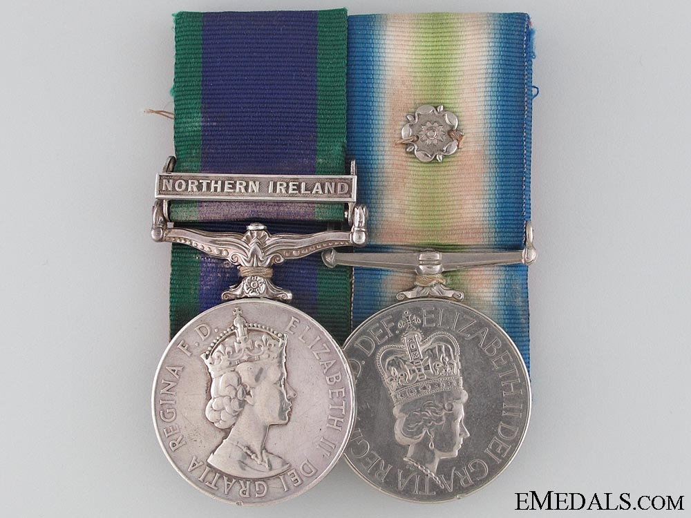 eMedals-A Fine Falklands Pair to the Scots Guards