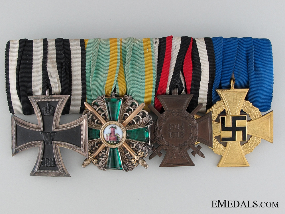eMedals-A Fine First War Period Medal Bar