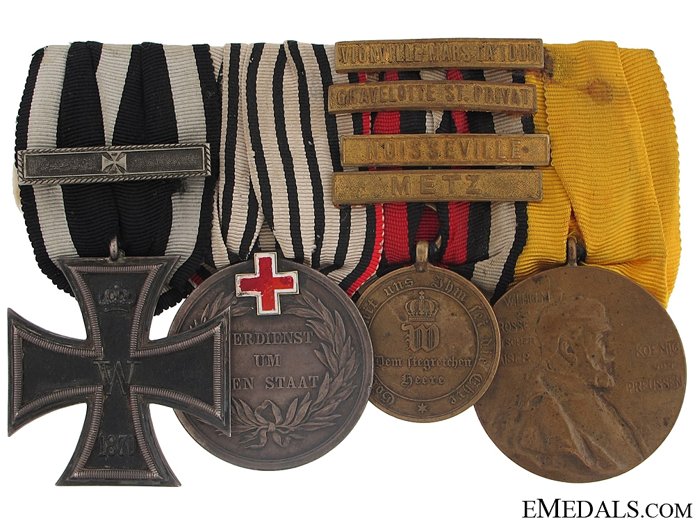 eMedals-A Fine Franco-Prussian War Group of Four