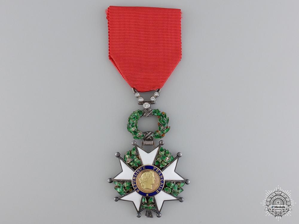eMedals-A Fine French Legion D' Honneur with Diamonds