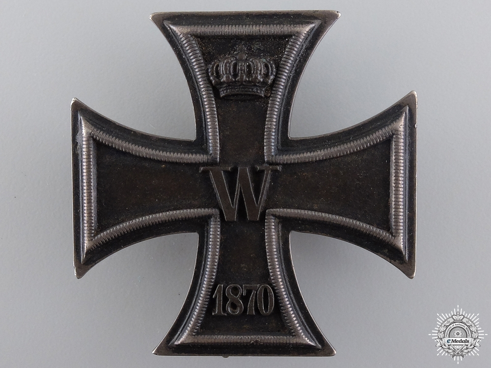 eMedals-A Fine Iron Cross First Class 1870 by I. Wagner & Sohn