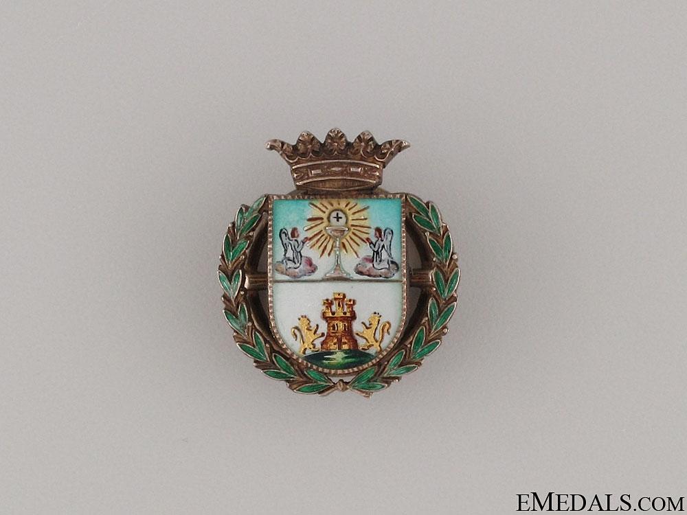 eMedals-A Fine Lugo Province Lapel Badge