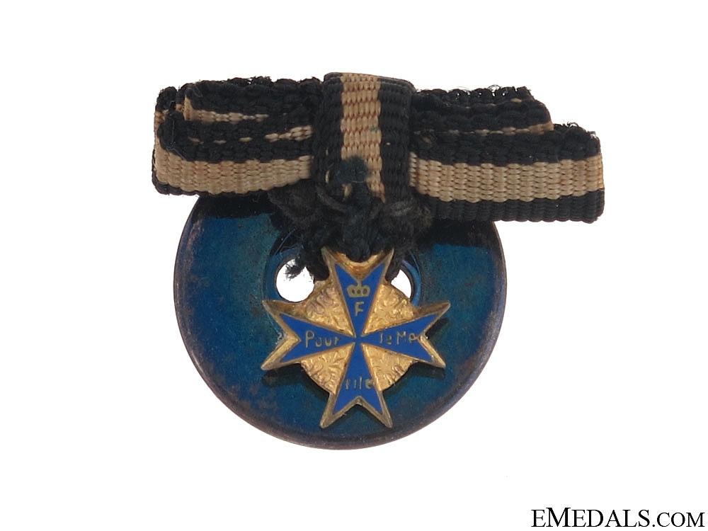 eMedals-A Fine Miniature Pour-le-Merite