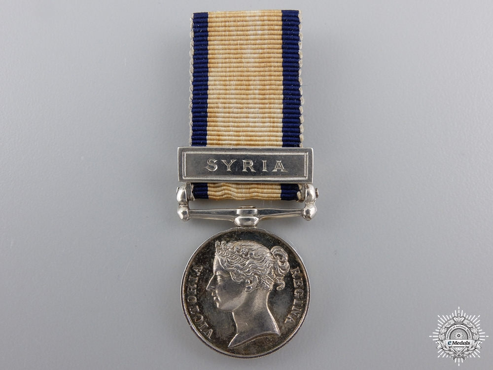 eMedals-A Fine Miniature Naval General Service Medal for Syria