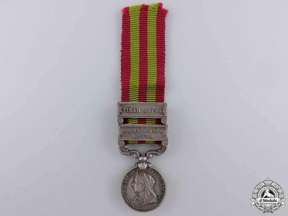 eMedals-A Fine Period Miniature India Medal 1895-1902