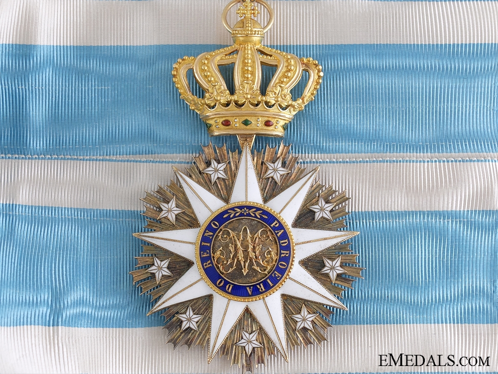 eMedals-A Fine Portuguese Order of Villa Vicosa in Gold; Commander