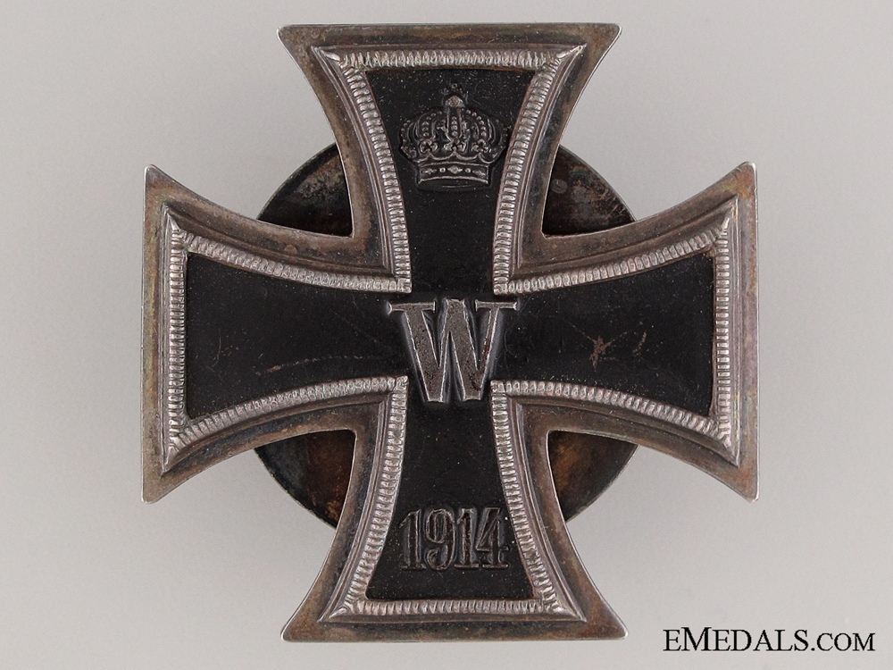 eMedals-A Fine Quality Screw Back Iron Cross 1st Class 1914