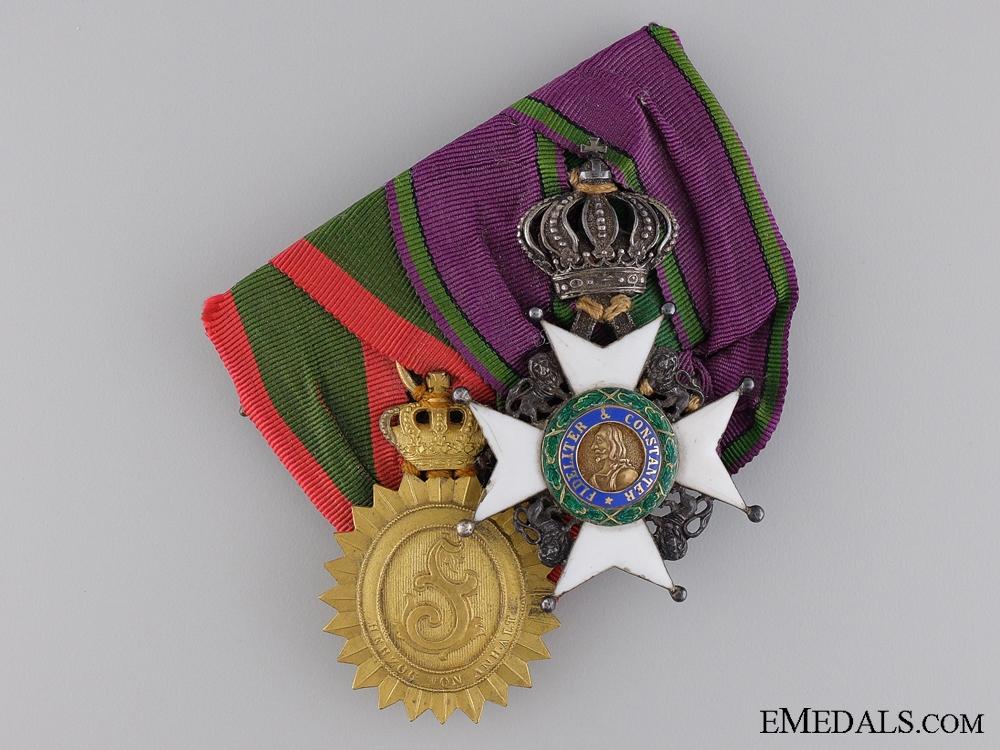 eMedals-A Fine Saxon & Anhalt Medal Pair