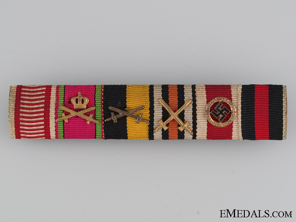 eMedals-A Fine Six Decoration Ribbon Bar