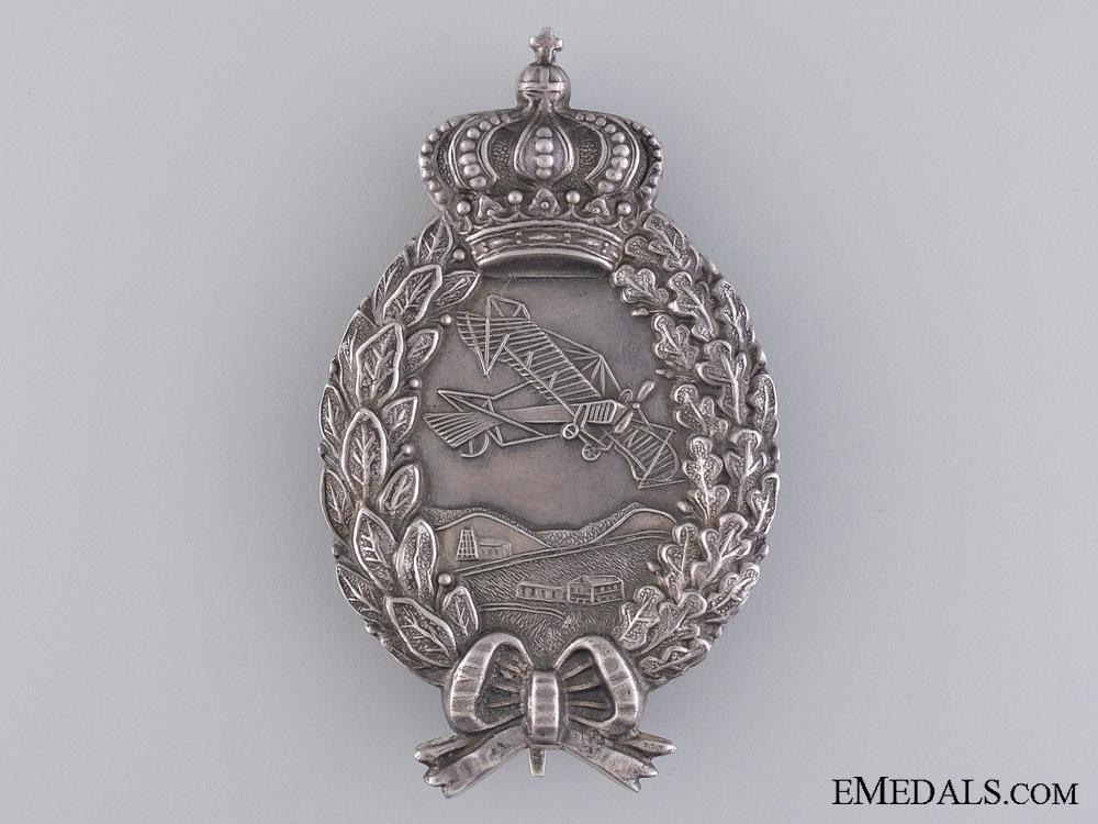 eMedals-A Fine WWI Bavarian Pilots Badge by Karl Pöllath