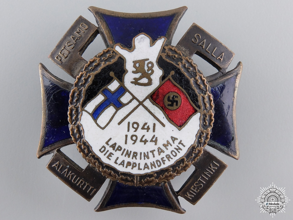 eMedals-A Finnish 1940-41 North Front Award