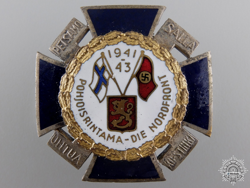 eMedals-A Finnish Northern Front Cross 1941-1942