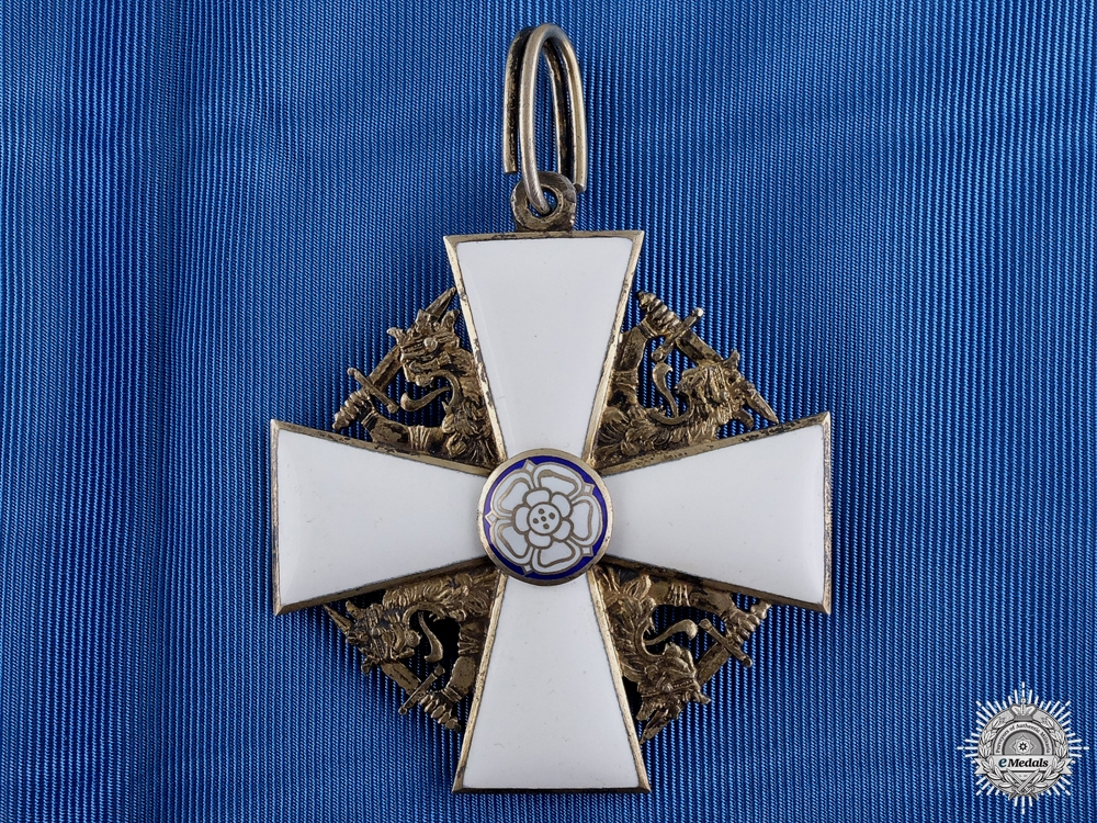 eMedals-A Finnish Order of the White Rose; Grand Cross by Tillander
