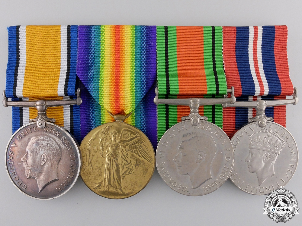 eMedals-A First & Second War Group to the Royal Garrison Artillery