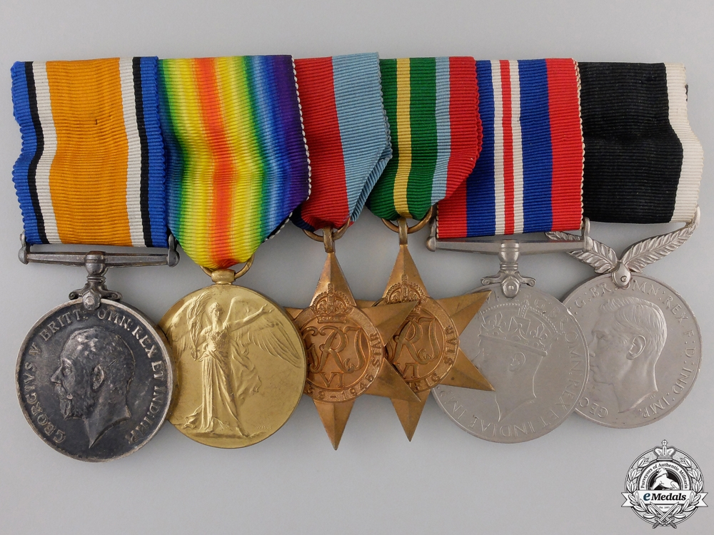 eMedals-A First & Second War Medal Bar to the Australian 1st Regiment