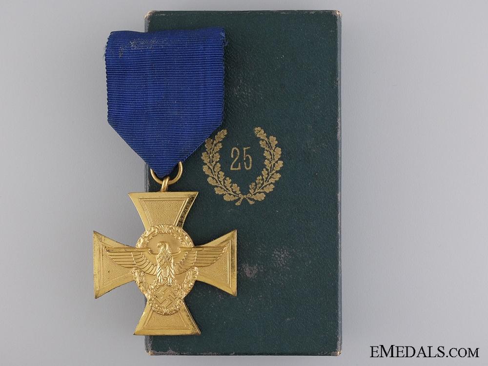 eMedals-A First Class German Police Long Service Cross