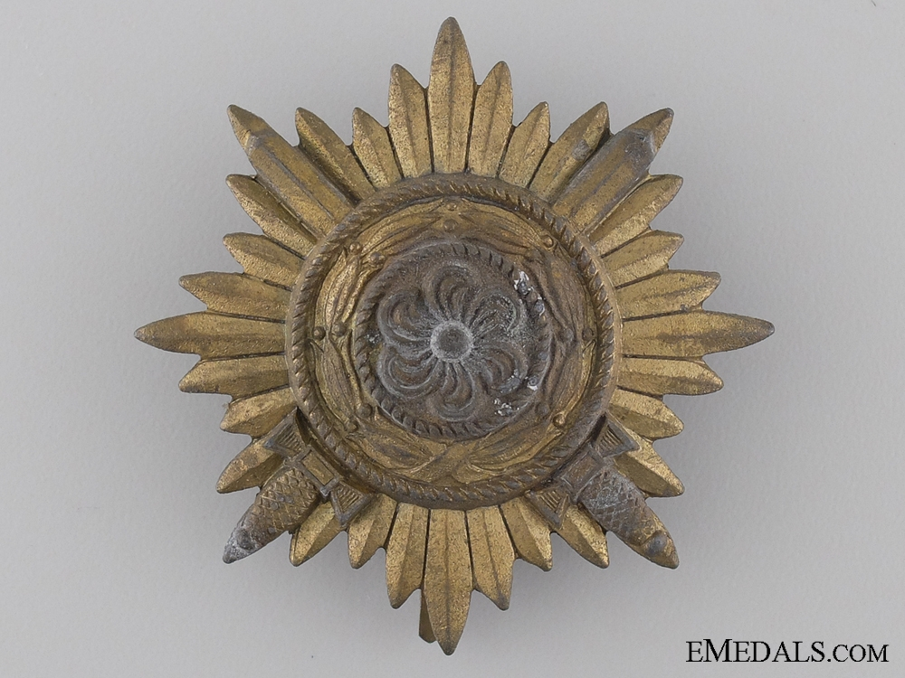 eMedals-A First Class Ostvolk Decoration; Gold Grade with Swords