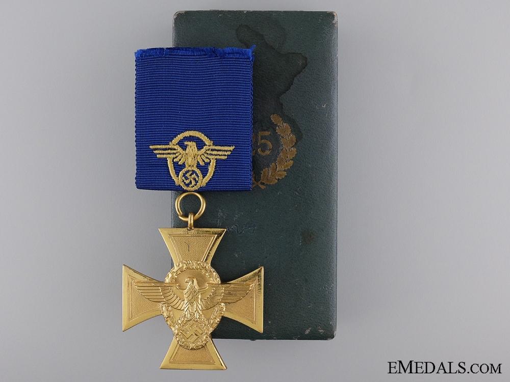 eMedals-A First Class Police Long Service Cross