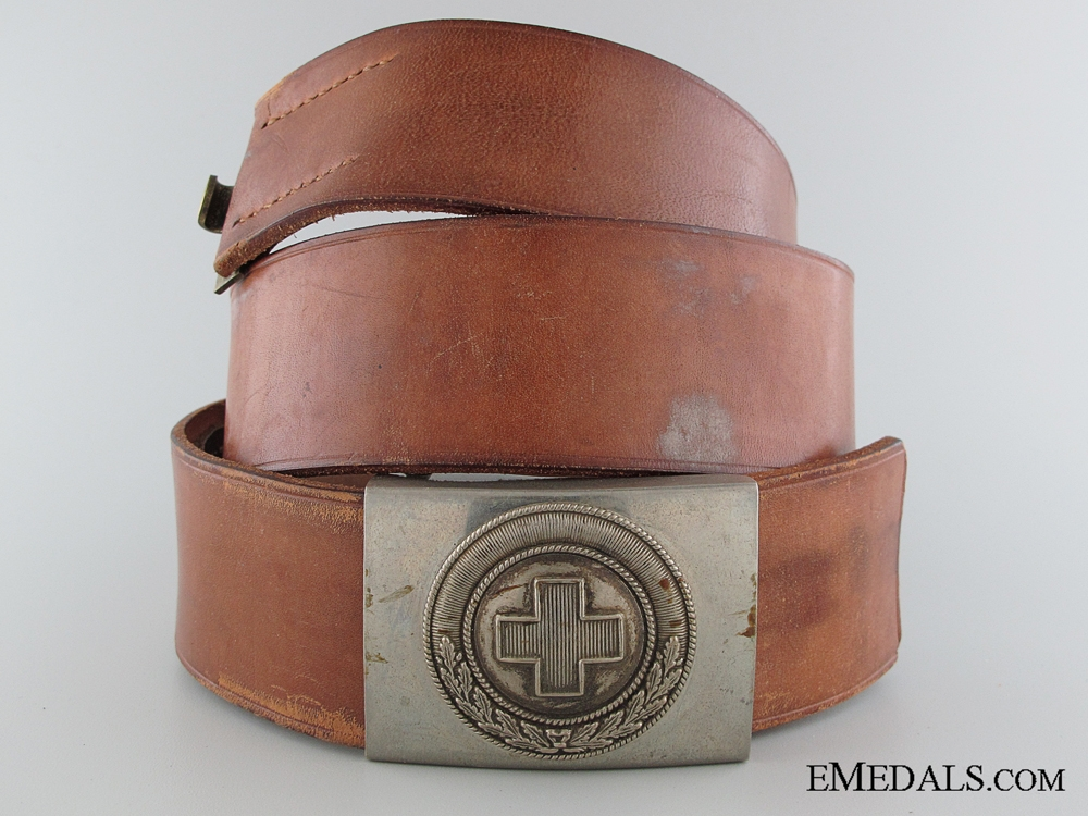 eMedals-A First Pattern DRK Belt & Buckle
