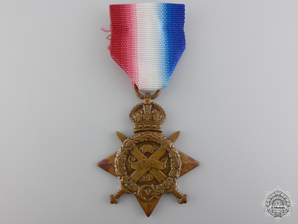 eMedals-A First War 1914 Mons Star to the Royal Field Artillery