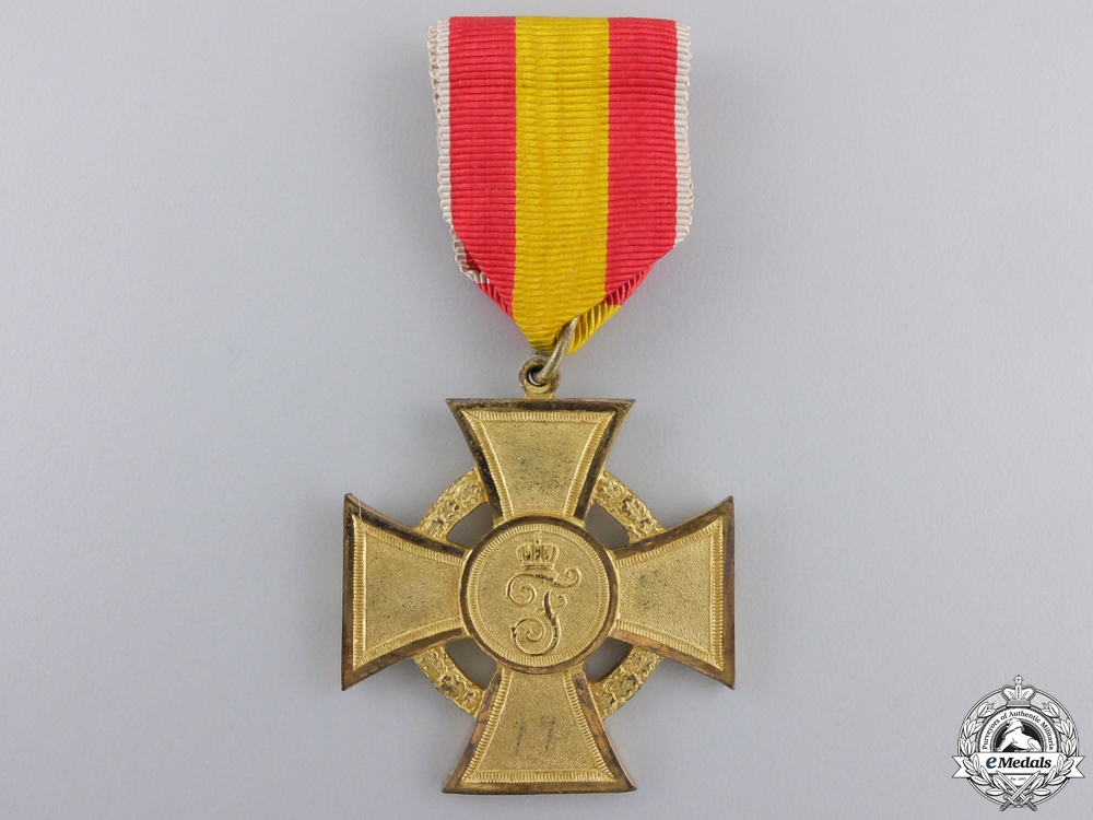 eMedals-A First War 1914-16 Baden Cross for War Aid Volunteers