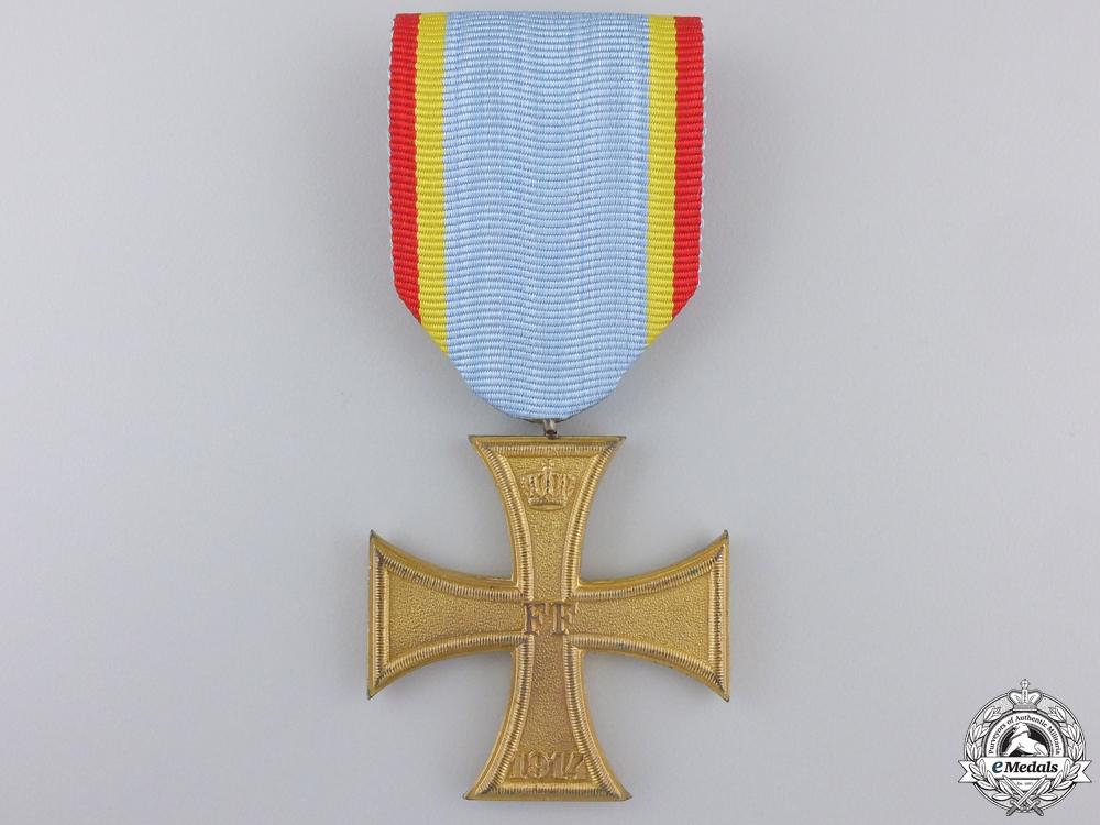 eMedals-A First War 1914 Mecklenburg War Cross; Second Class