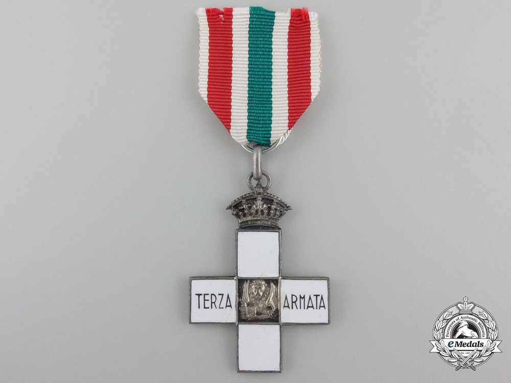 eMedals-A First War 3rd Army Commemorative Cross; Silver Grade