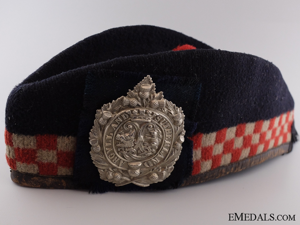 eMedals-A First War Argyll and Sutherland Highlanders Glengarry Cap