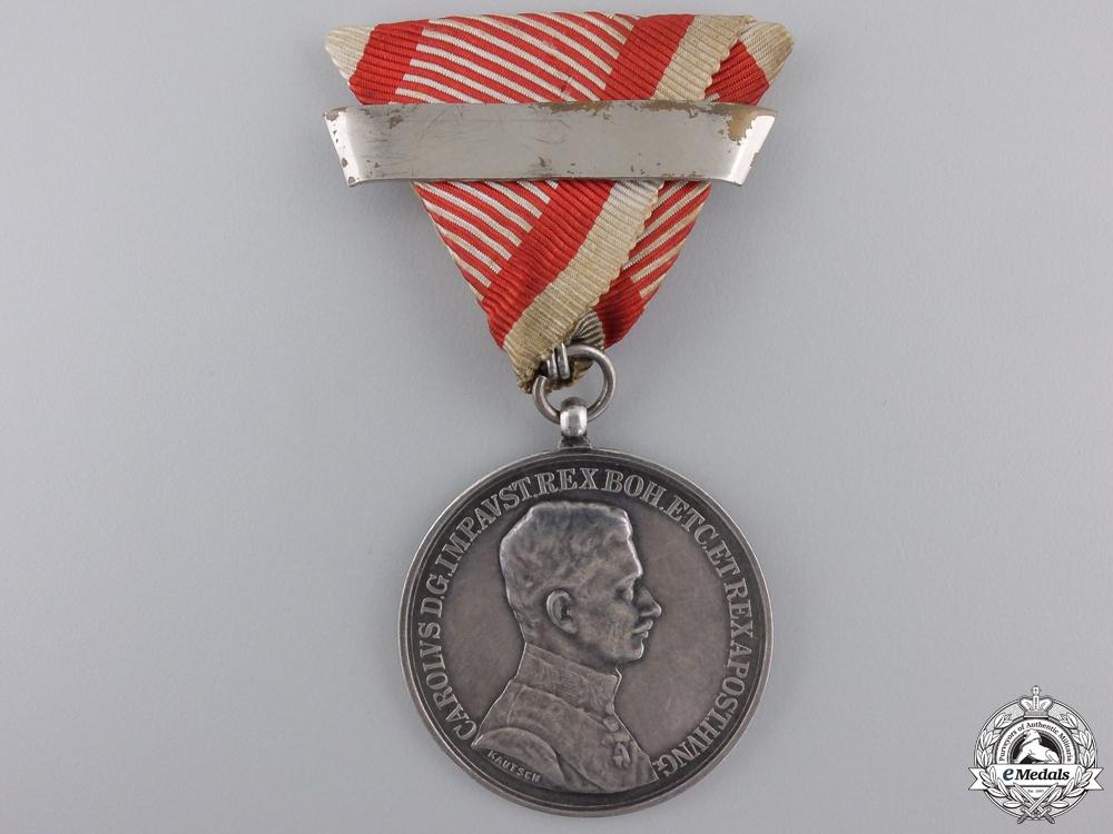 eMedals-A First War Austrian Bravery Medal; Silver Grade 1st Class