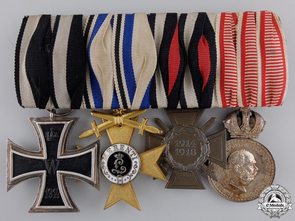 eMedals-A First War Bavarian Medal Bar