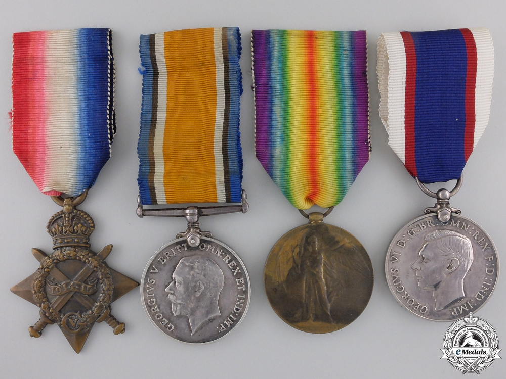eMedals-A First War British Naval Group to the Royal Navy