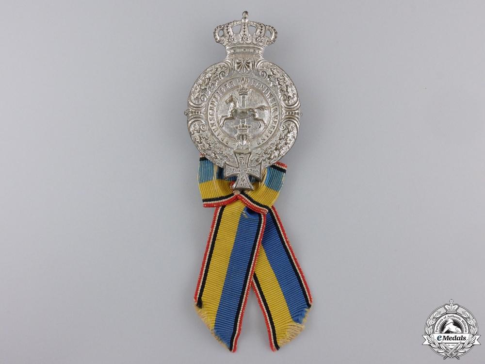 eMedals-A First War Brunswick Veterans Badge