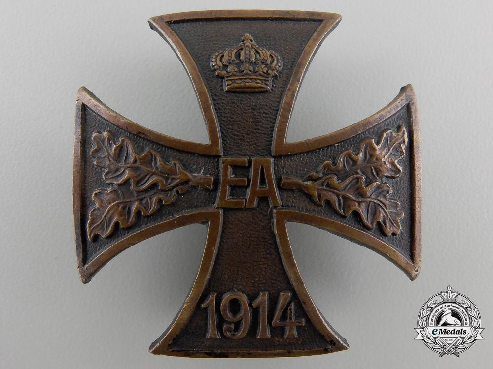 eMedals-A First War Brunswick-Ernst-August Cross; First Class
