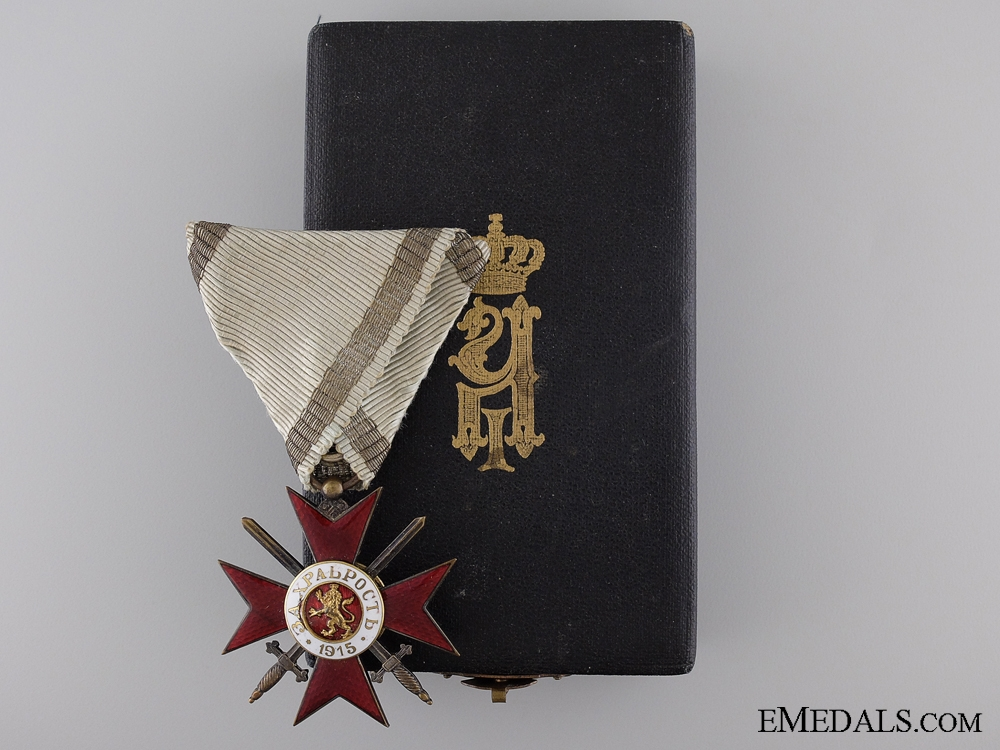 eMedals-A First War Bulgarian Order of Bravery; Fourth Class