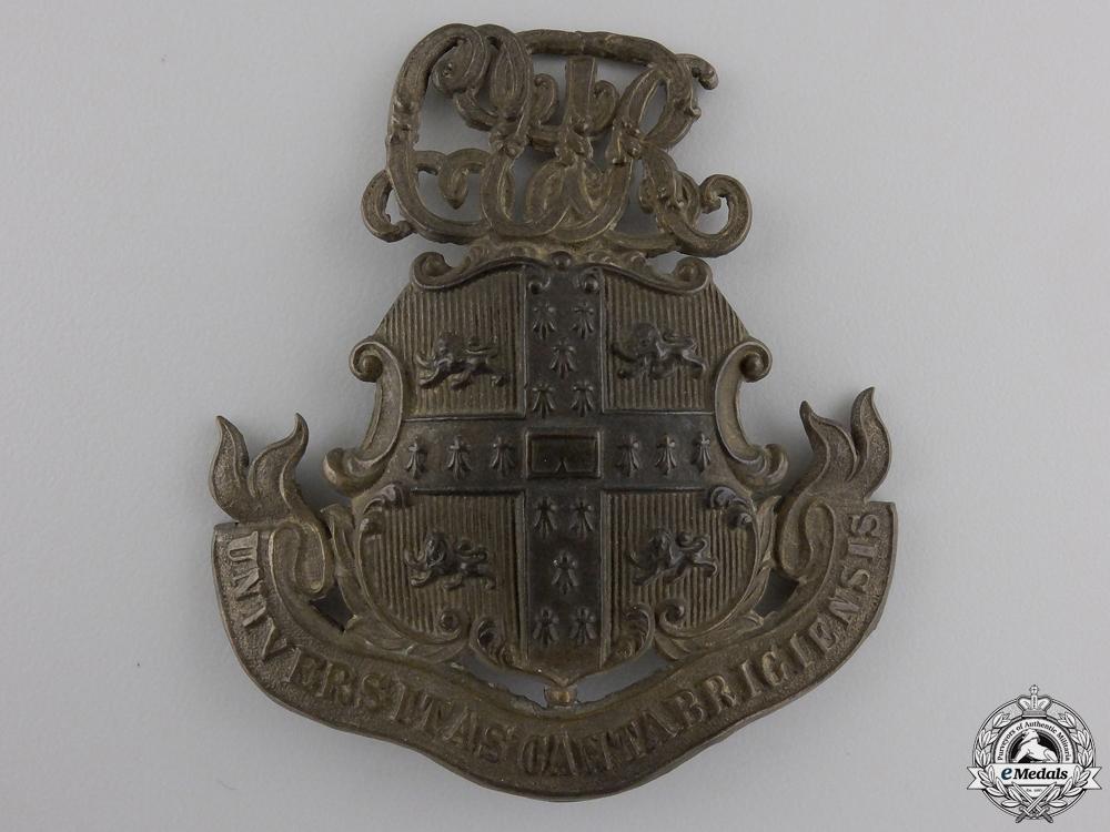 eMedals-A First War Cambridge University Cap Badge