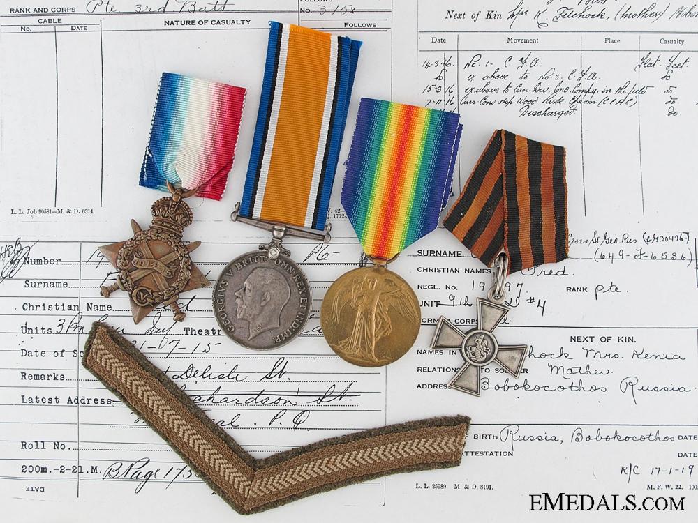eMedals-A First War Canadian St.George Cross Recipient
