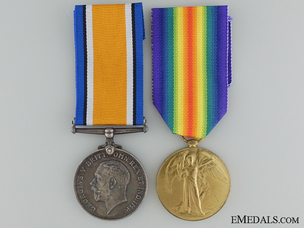 eMedals-A First War Canadian Pair to the Royal Canadian Regiment