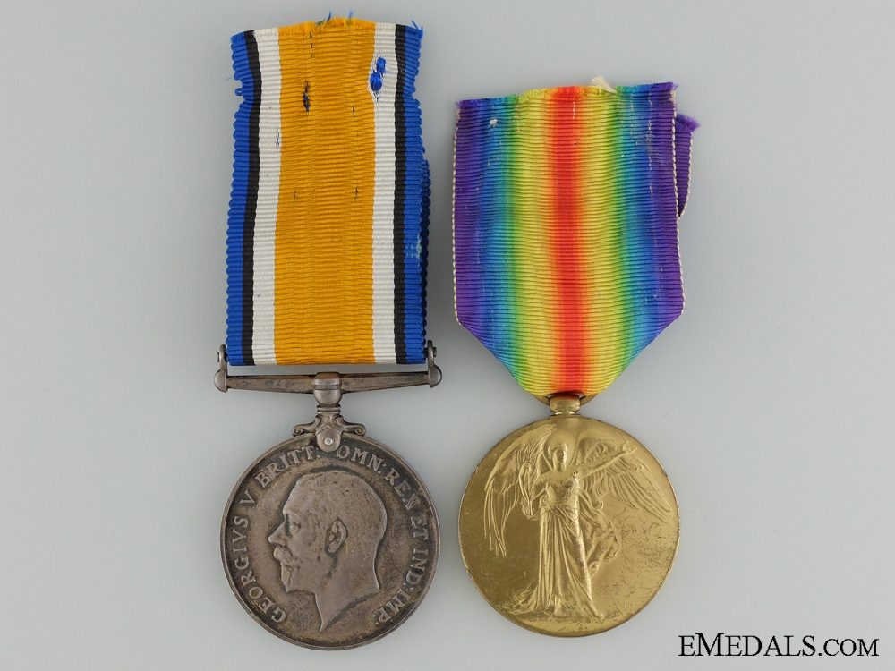 eMedals-A First War Canadian Pair to the 2nd Infantry Battalion CEF
