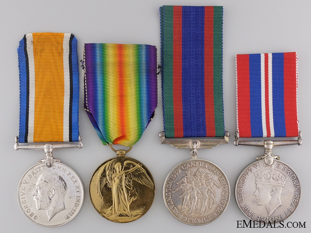 eMedals-A First War Canadian Pair to Major Whtyock Military Cross
