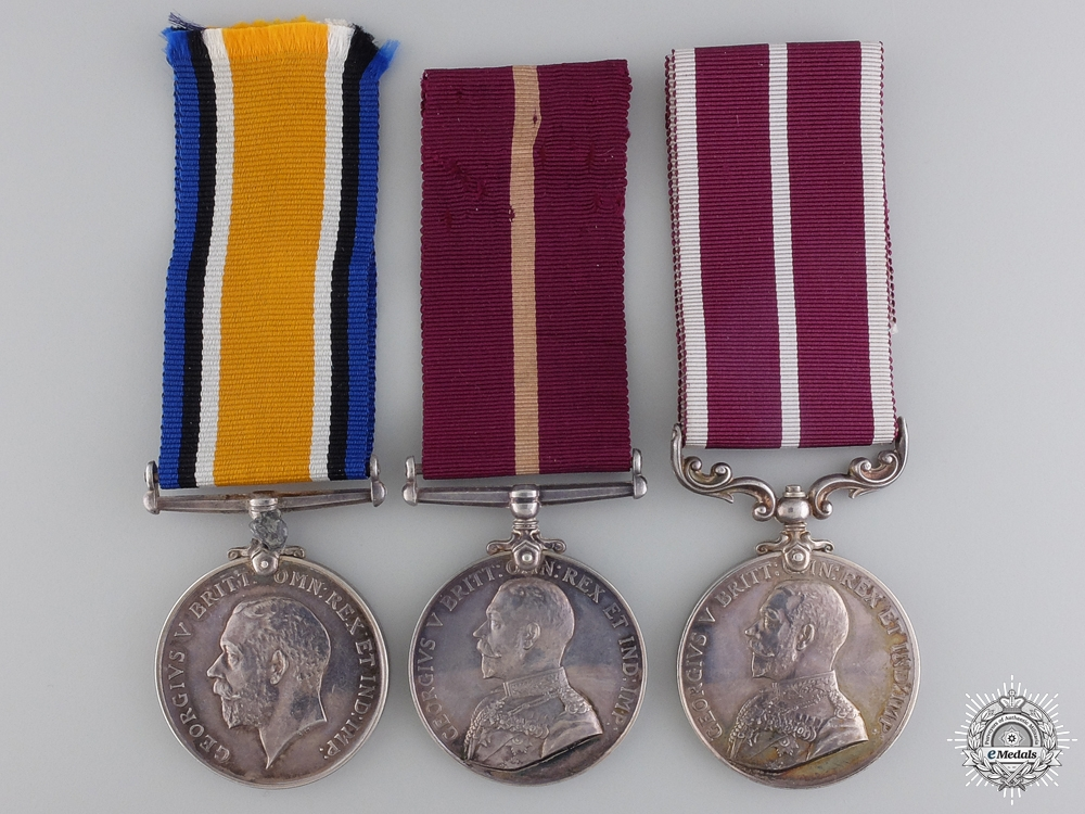 eMedals-A First War Canadian Meritorious Service Medal Group