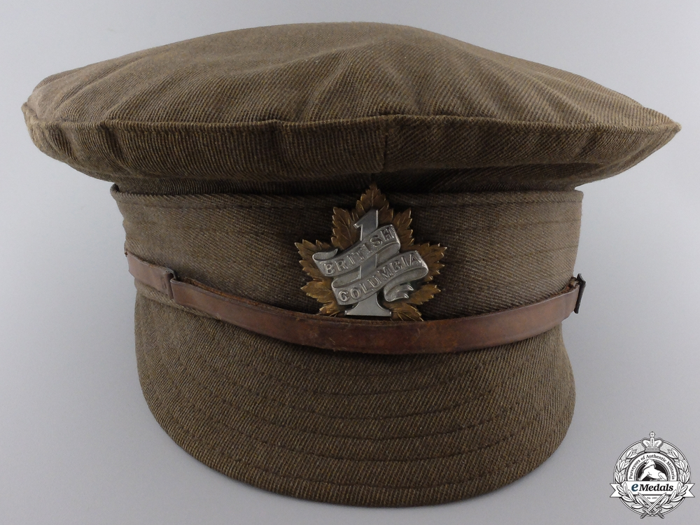 eMedals-A First War Canadian Trench Cap; 7th Battalion CEF  Consignment #4