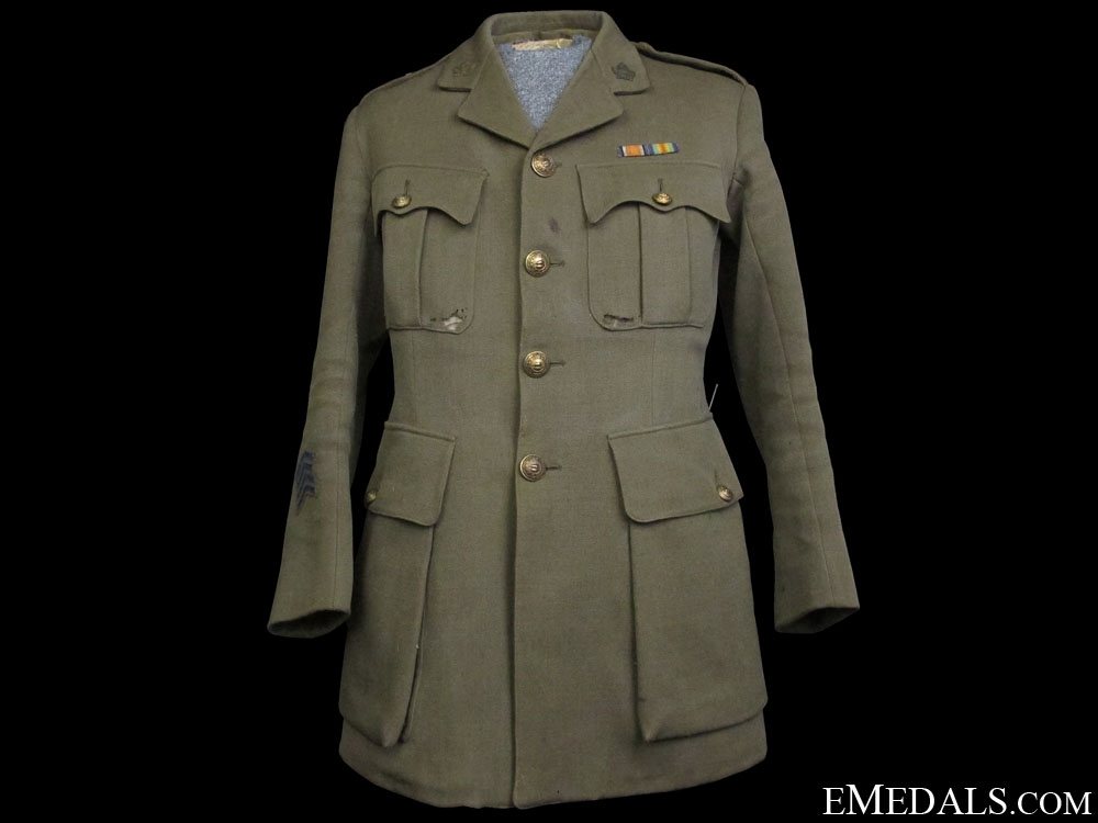 eMedals-A First War CEF Captain's Tunic