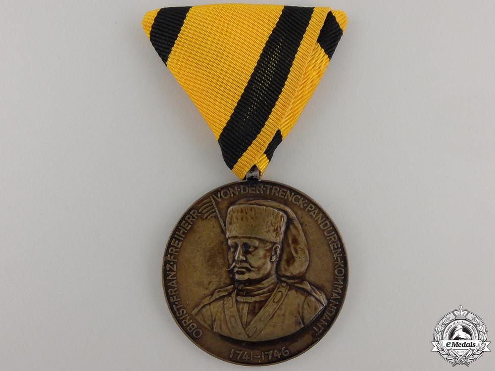 eMedals-A First War Croatian 53rd Regiment Trenk's Medal