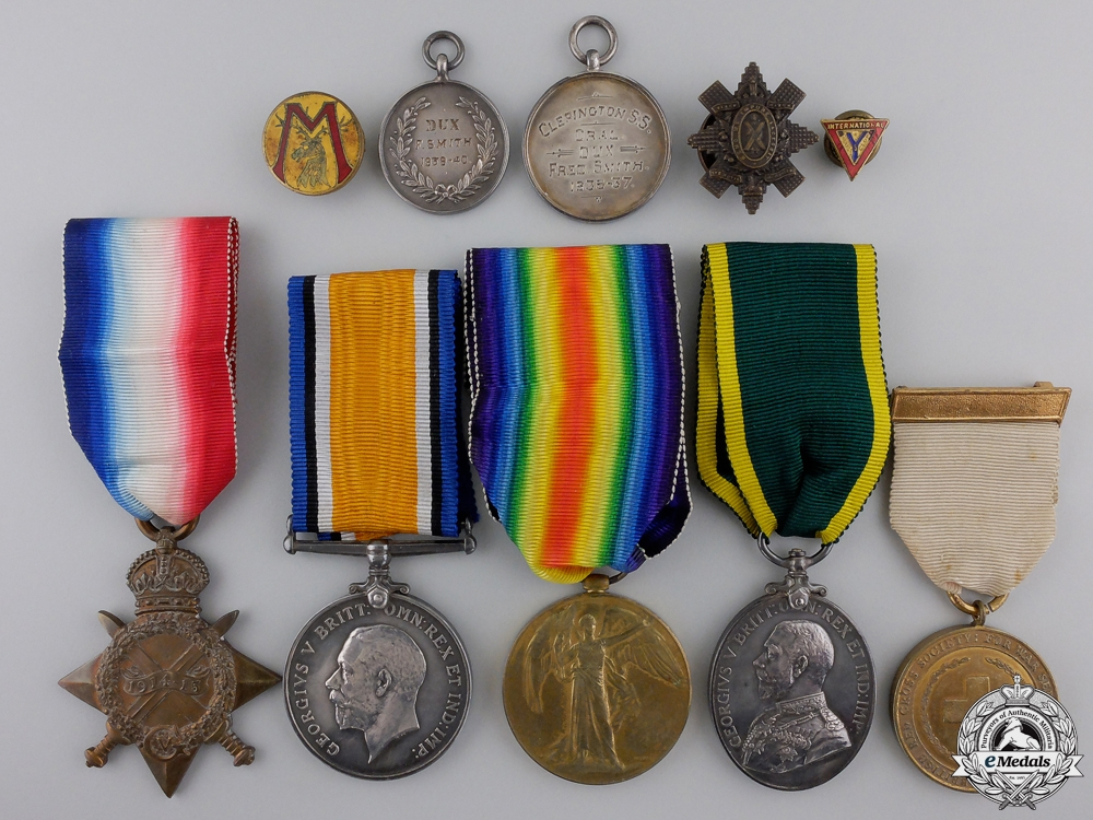 eMedals-A First War Efficiency Medal Group to the Royal Army Medical Corps