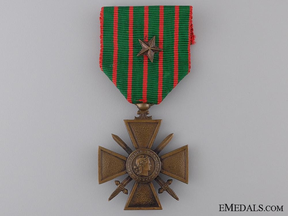 eMedals-A First War French War Cross 1914-1918