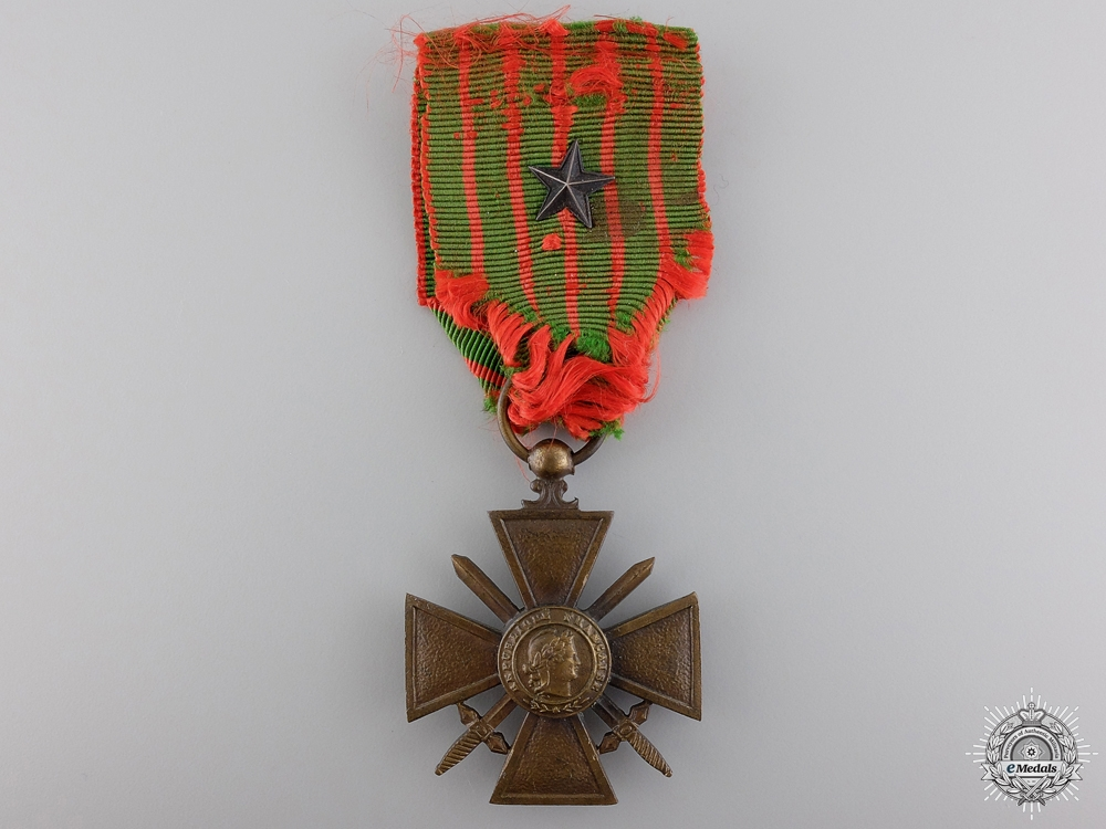 eMedals-A First War French War Cross