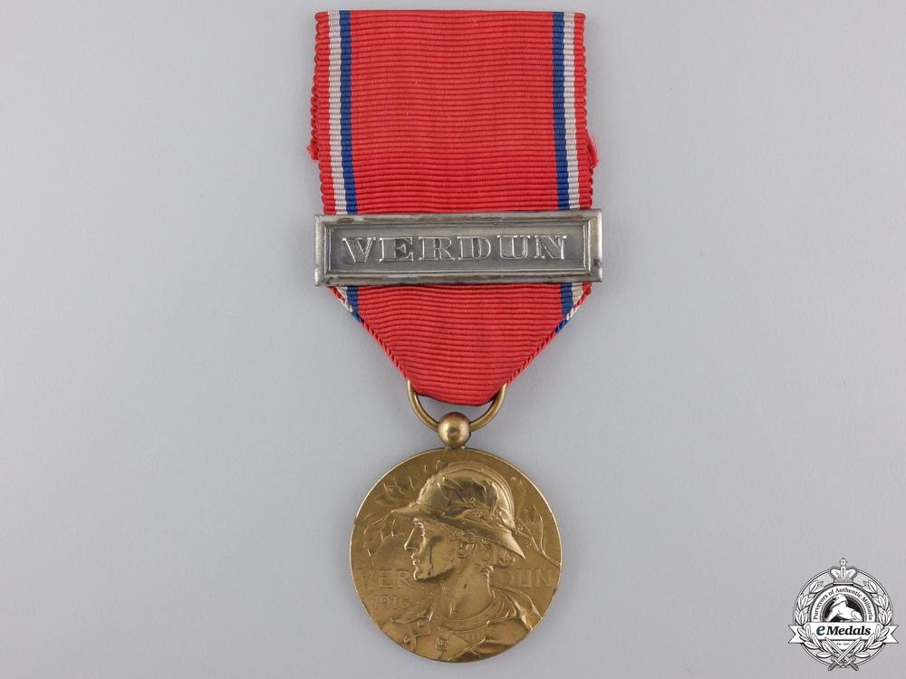 eMedals-A First War French Verdun Medal