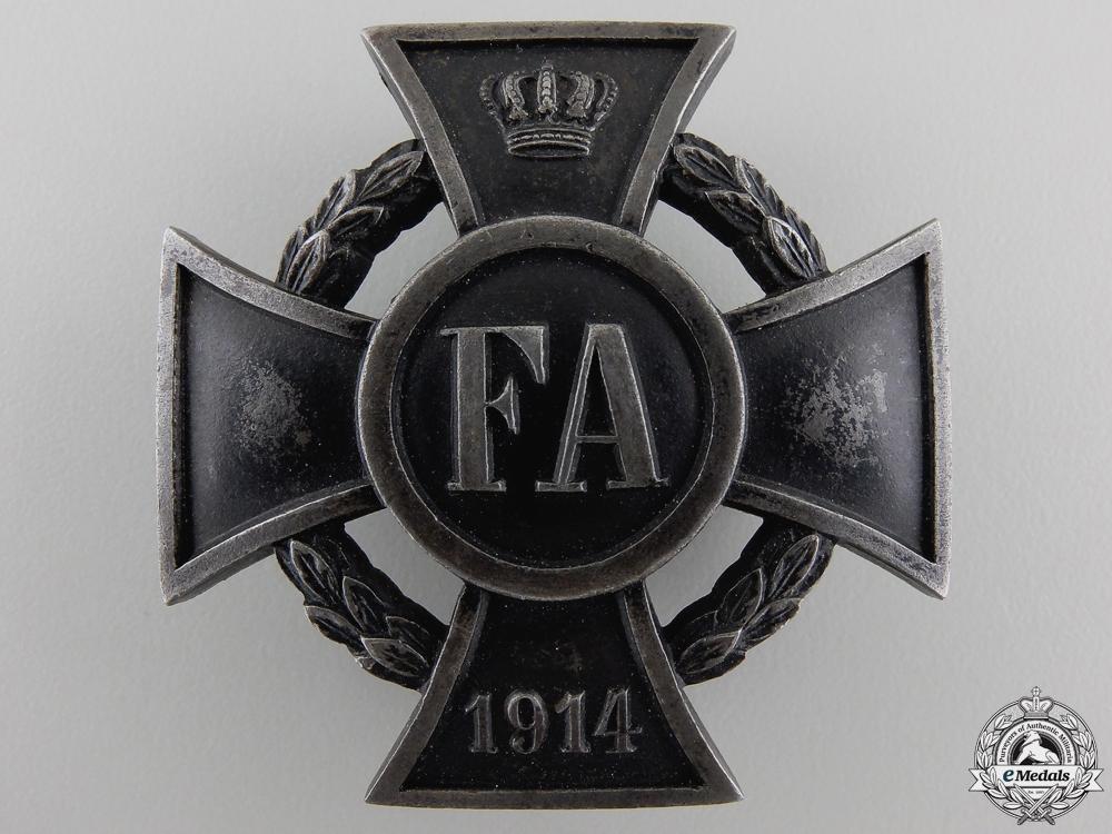 eMedals-A First War Friedrich August Cross; First Class
