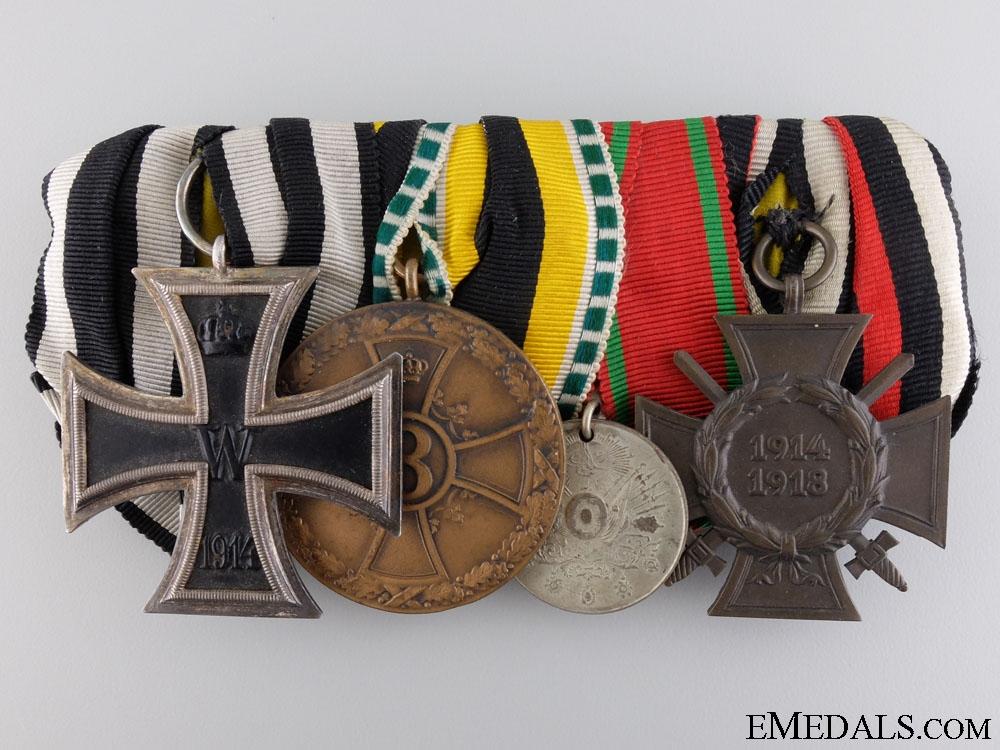 eMedals-A First War German & Turkish Liyakat Medal Bar