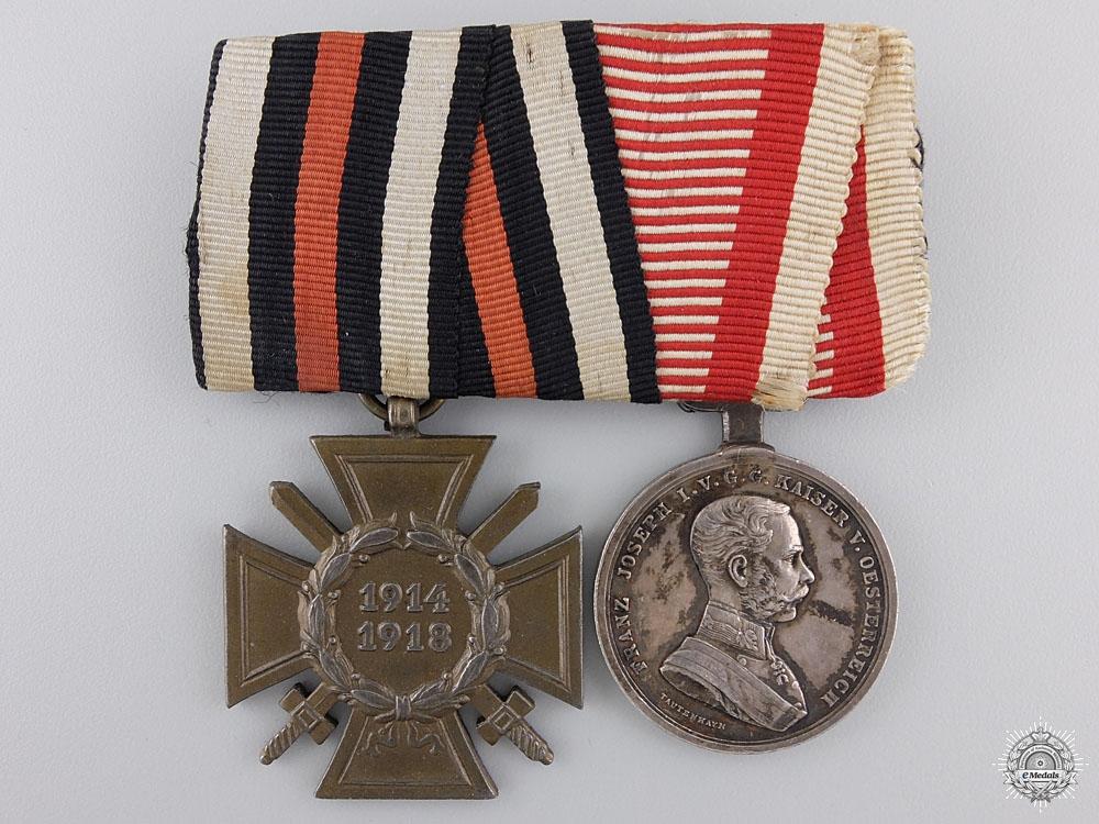 eMedals-A First War German & Austrian Pair of Awards
